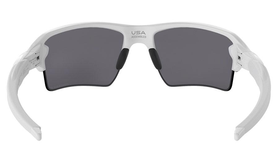 48dfb3ac5c6 Oakley Flak 2.0 XL Sunglasses - Polished White   Prizm Black ...
