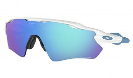 Oakley Radar EV Path Sunglasses - Polished White / Prizm Sapphire