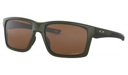 Oakley Mainlink XL Sunglasses - Olive Green / Prizm Tungsten