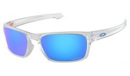 0b8a413d57 Oakley Sliver Stealth Sunglasses - Matte Clear   Prizm Sapphire