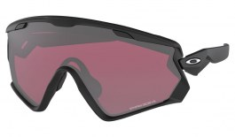 Oakley Wind Jacket 2.0 Ski Sunglasses - Matte Black / Prizm Snow Black Iridium