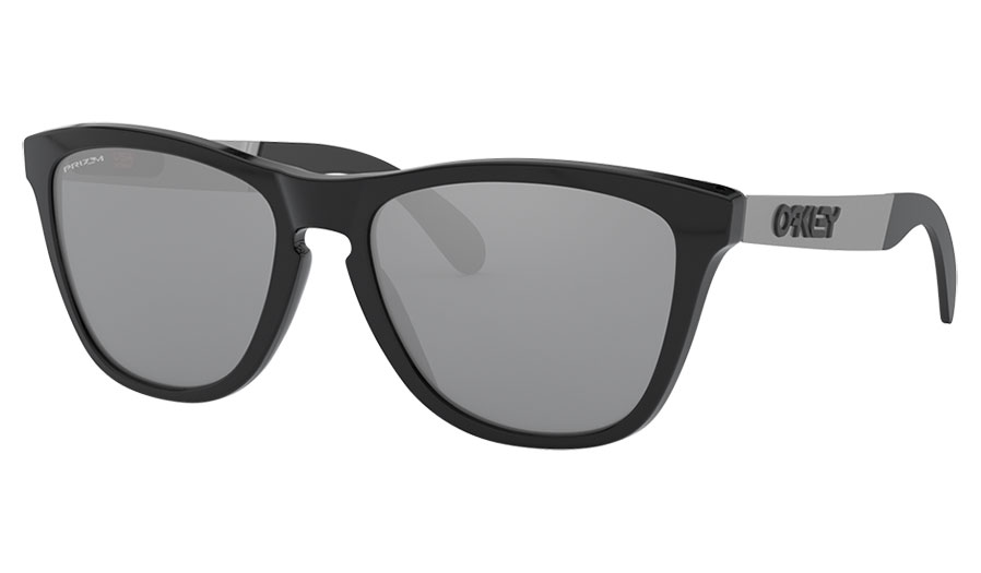 Oakley Frogskins Mix Sunglasses - Polished Black / Prizm Black