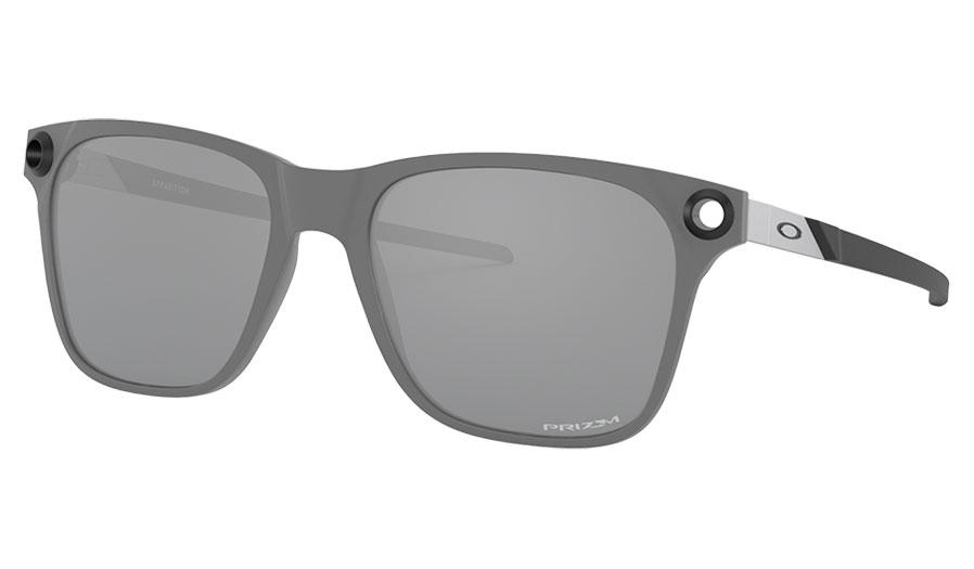 Oakley Apparition Sunglasses - Satin Concrete / Prizm Black