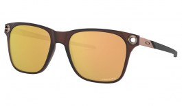 Oakley Apparition Sunglasses - Satin Dark Amber / Prizm Rose Gold