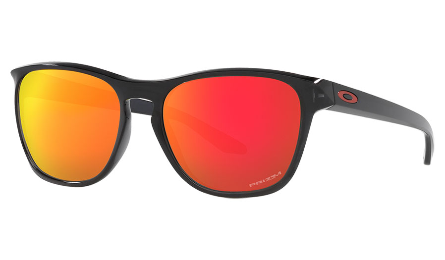 Oakley Manorburn Sunglasses - Black Ink / Prizm Ruby