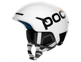 POC Obex BC MIPS Ski Helmet - Hydrogen White & Fluorescent Orange AVIP