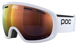 POC Fovea Clarity Ski Goggles - Hydrogen White / Spektris Orange