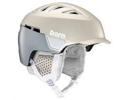 Bern Heist Brim Ski Helmet - Satin Delphin Grey