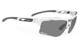 Rudy Project Keyblade Prescription Sunglasses - ImpactRX Directly Glazed - White Gloss