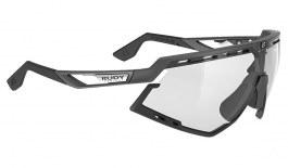 Rudy Project Defender Prescription Sunglasses (Graphene Edition) - Clip-On Insert - Graphene Black / ImpactX 2 Photochromic Black