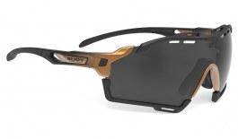 Rudy Project Cutline Sunglasses - Matte Black Bronze Fade / Smoke Black