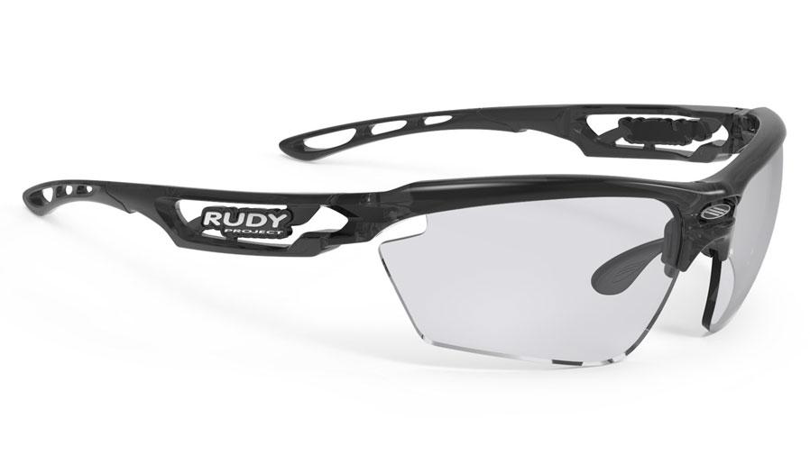 Rudy Project Fotonyk Prescription Sunglasses - ImpactRX Directly Glazed - Crystal Graphite