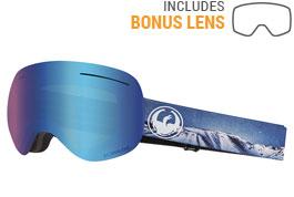 Dragon X1 Ski Goggles - Realm / Lumalens Blue Ion + Lumalens Amber