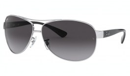 Ray-Ban RB3386 Sunglasses - Silver / Grey Gradient