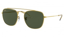 Ray-Ban RB3557 Sunglasses - Gold / Green