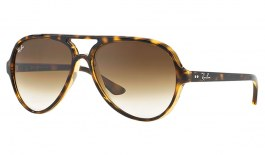 Ray-Ban RB4125 Cats 5000 Sunglasses - Tortoise / Brown Gradient