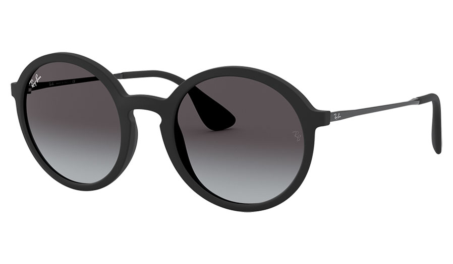 Ray-Ban RB4222 Sunglasses - Black Rubber / Grey Gradient