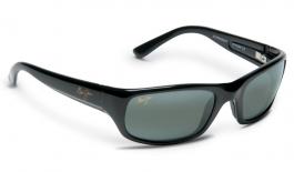 Maui Jim Stingray Sunglasses - Gloss Black / Neutral Grey Polarised