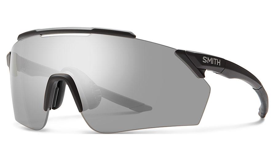 Smith Ruckus Sunglasses - Matte Black / ChromaPop Platinum Mirror + ChromaPop Contrast Rose