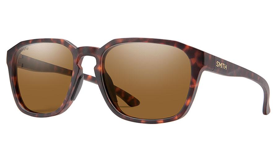 Smith Contour Sunglasses - Matte Tortoise / ChromaPop Brown Polarised
