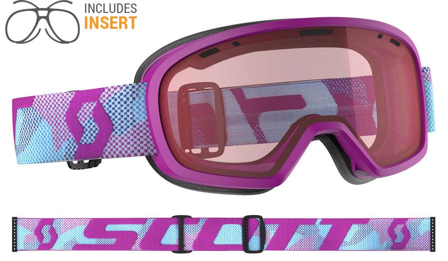18959cc90db Scott Muse Prescription Ski Goggles - Purple   Enhancer - RxSport