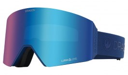 Dragon RVX OTG Ski Goggles - Navy / Lumalens Flash Blue + Lumalens Dark Smoke