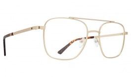 SPY Tamland Glasses - Matte Gold & Dark Tort - Essilor Lenses