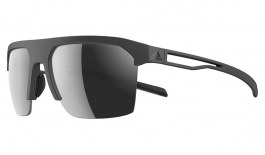 adidas Strivr Sunglasses - Matte Grey / Grey Chrome Mirror