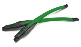 Oakley Crosslink / Crosslink Sweep Temple Kit - Satin Black & Team Green