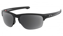Oakley Sliver Edge Prescription Sunglasses - Polished Black