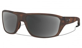 Oakley Split Shot Prescription Sunglasses - Matte Brown Tortoise (Chrome Icon)