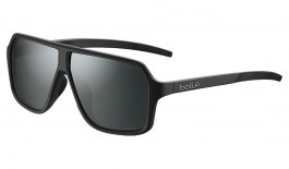 Bolle Prime Sunglasses - Matte Black / Volt+ Gun Polarised