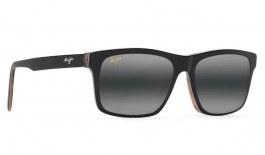 Maui Jim Waipio Valley Prescription Sunglasses - Black, Grey & Tan Horn