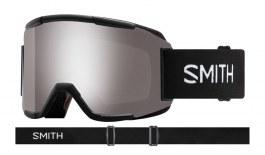 Smith Squad Prescription Ski Goggles - Black / ChromaPop Sun Platinum Mirror + Yellow