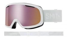 Smith Riot Prescription Ski Goggles - White Vapor / ChromaPop Everyday Rose Gold Mirror + Yellow