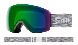 Smith Skyline Ski Goggles - Cloudgrey / ChromaPop Everyday Green Mirror