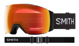Smith I/O MAG XL Prescription Ski Goggles - Black / ChromaPop Everyday Red Mirror + ChromaPop Storm Yellow Flash