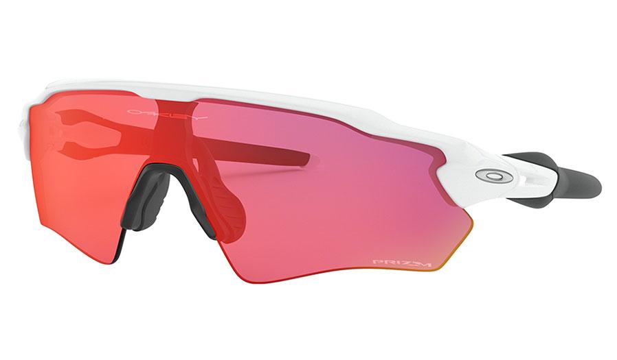 Oakley Radar EV XS Path Sunglasses - Polished White / Prizm Field