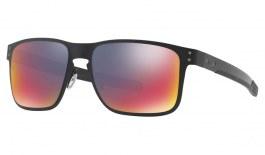 072be029c67 Oakley Holbrook Metal Sunglasses - Matte Black / Positive Red Iridium