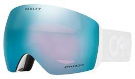 Oakley Flight Deck Ski Goggles - Factory Pilot - Factory Pilot Whiteout / Prizm Sapphire Iridium