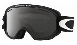 Oakley O Frame 2.0 XM Ski Goggles - Matte Black / Dark Grey