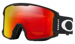 Oakley Line Miner Prescription Ski Goggles - Matte Black / Prizm Torch Iridium