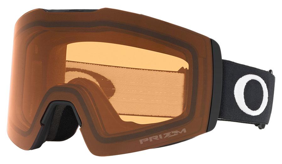 Oakley Fall Line XM Ski Goggles - Matte Black / Prizm Persimmon