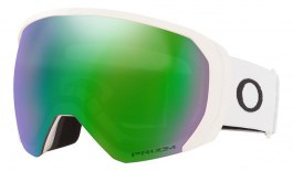 Oakley Flight Path XL Prescription Ski Goggles - Matte White / Prizm Jade Iridium