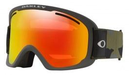 Oakley O Frame 2.0 Pro XL Prescription Ski Goggles - Dark Brush Camo / Fire Iridium + Persimmon