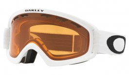 Oakley O Frame 2.0 Pro XS Ski Goggles - Matte White / Persimmon + Dark Grey