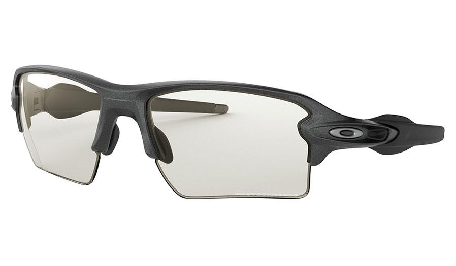Oakley Flak 2.0 XL Sunglasses - Steel / Clear Black Iridium Photochromic