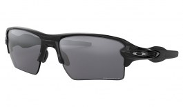 Oakley Flak 2.0 XL Sunglasses - Polished Black / Prizm Black Polarised