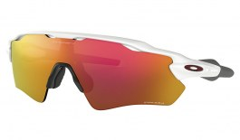 Oakley Radar EV Path Sunglasses - Polished White / Prizm Ruby