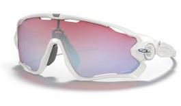 Oakley Jawbreaker Sunglasses - Polished White / Prizm Snow Sapphire Iridium